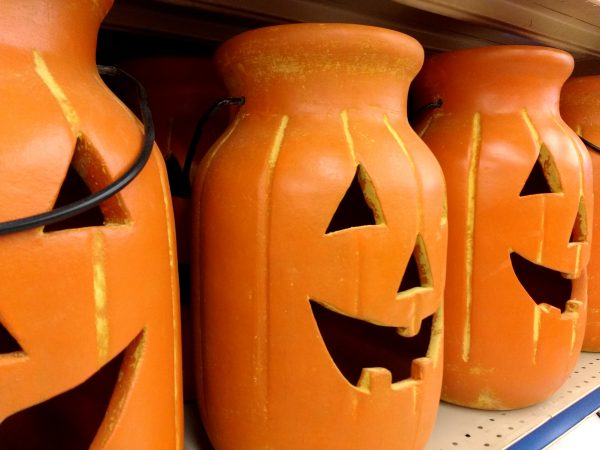 Ceramic Jack-o-Lantern Jugs - Free High Resolution Photo