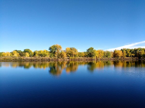 Lake in Early Fall - Free High Resolution Photo
