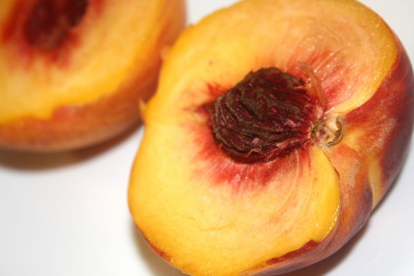 Peach Half - Free High Resolution Photo
