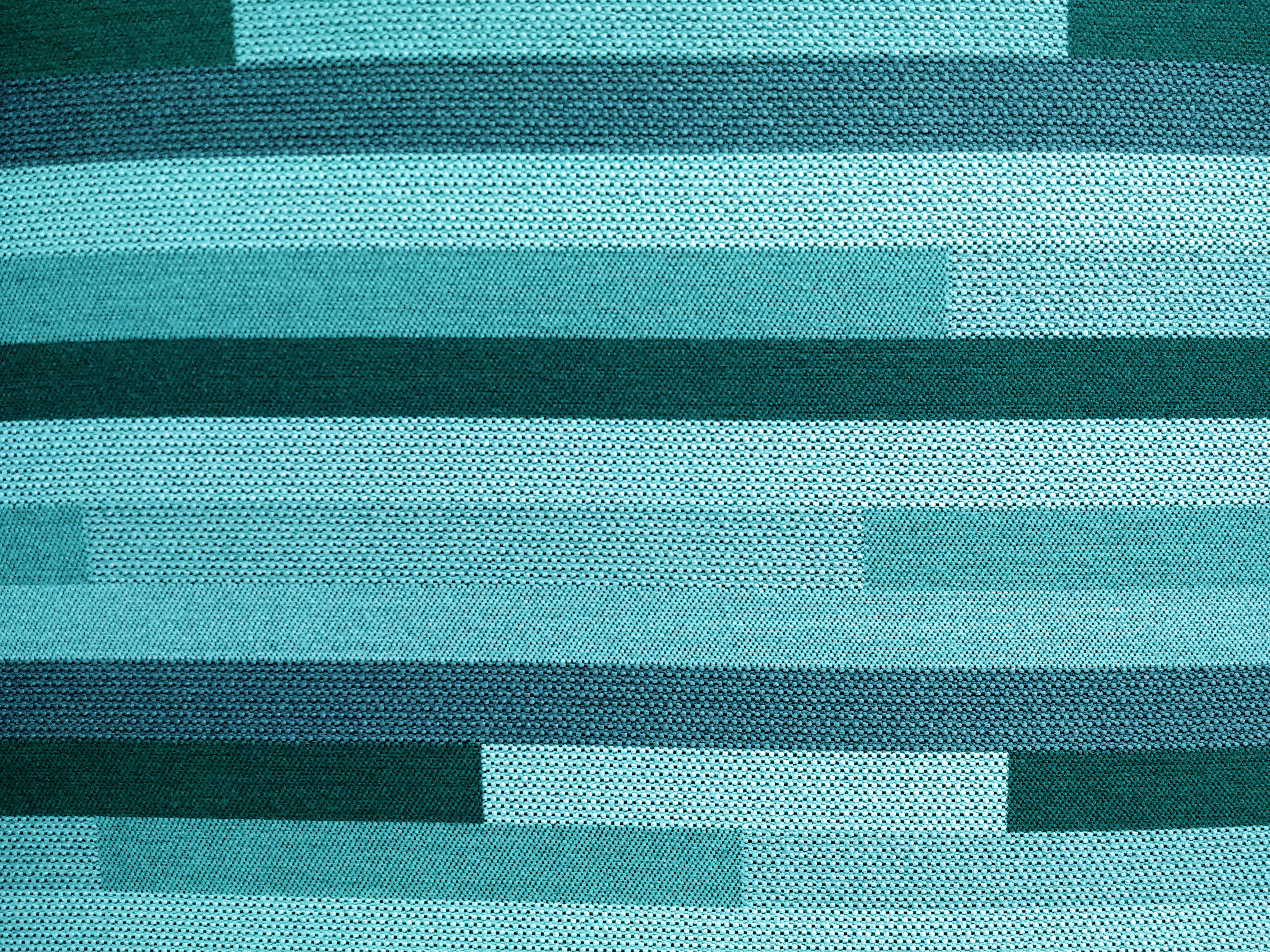 Striped Turquoise Upholstery Fabric Texture Picture Free