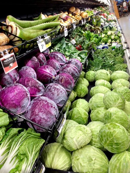 Vegetable Aisle in Grocery Store - Free High Resolution Photo