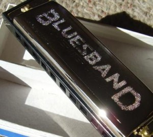 photo of blues band brand harmonica