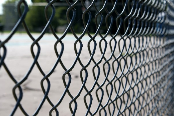 free photo of a chain link fence