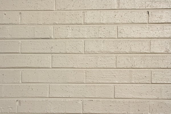 Free Photograph of cream colored painted bricks texture for background or wallpaper