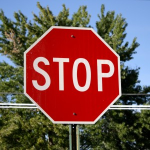 Free photo of a stop sign