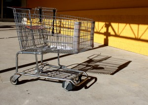free high resolution photo of a grocery cart