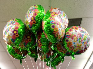happy birthday balloons - free high resolution photo
