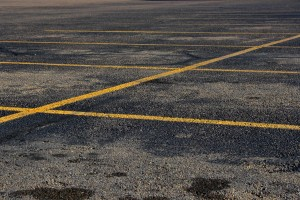 free high resolution photo of an empty parking lot