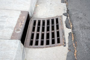 free high resolution photo of a storm drain
