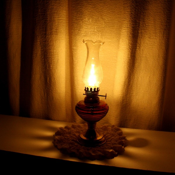 oil lamp burning - free high resolution photo