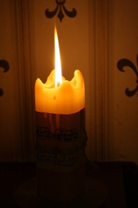 Candle with Tall Flame - free high resolution photo