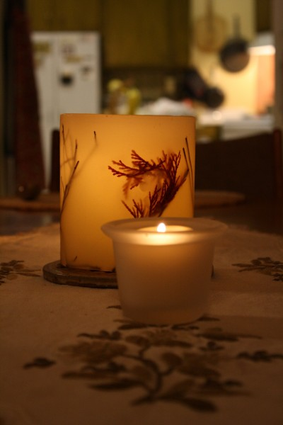Candles on Dinner Table - Free High Resolution Photo