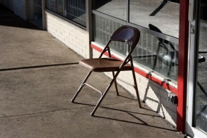 empty folding chair - free high resolution photo