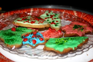 Frosted Christmas Cookies - Free High Resolution photo