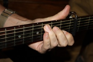Hand Chording Guitar - free high resolution photo