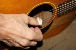 Hand Picking Guitar - free high resolution photo