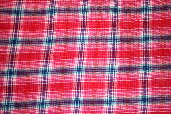 Hot Pink Plaid Fabric Texture - free high resolution photo