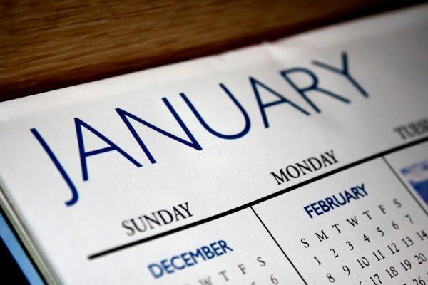 January Calendar - free high resolution photo