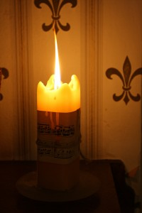 Music Notes Candle - Free High Resolution Photo
