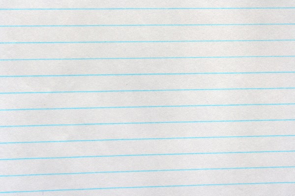 Notebook Paper Texture - Free High Resolution Photo