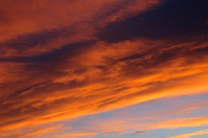 Orange and Blue Sunset - Free High Resolution Photo