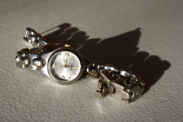 silver wrist watch - free high resolution photo