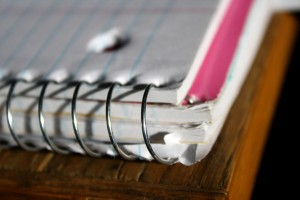 Spiral Notebook Corner - free high resolution photo
