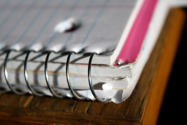 Spiral Notebook Corner - free high resolution photo