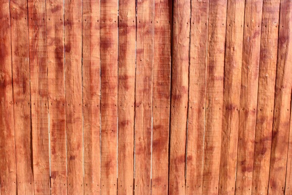 Stained Wooden Fence Texture - Free High Resolution Photo