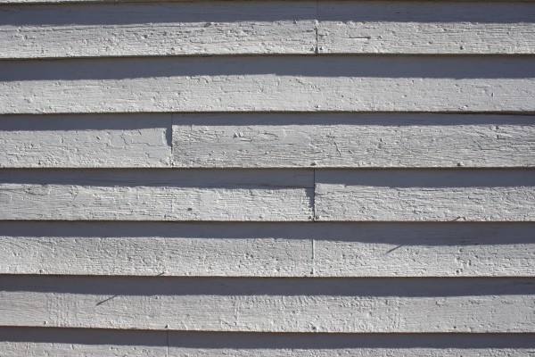 Wooden Siding Painted White Texture - Free High Resolution Photo