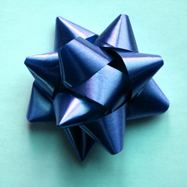 Blue Bow - Free High Resolution Photo