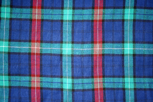 Blue Green and Red Plaid Texture - Free High Resolution Photo