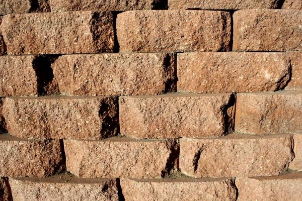 Brown Brick Retaining Wall Texture - Free High Resolution Photo