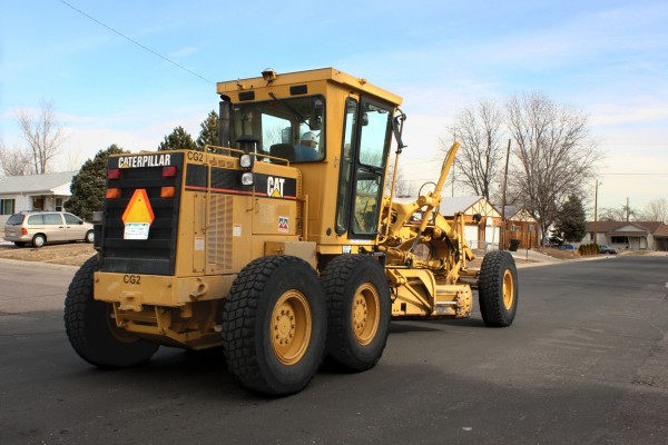 Caterpillar Street Maintenance Truck - Free High Resolution Photo