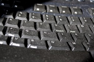 Dusty Computer Keyboard Closeup - Free High Resolution Photo