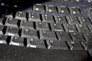 Dusty Computer Keyboard Closeup - Free High Resolution Photo