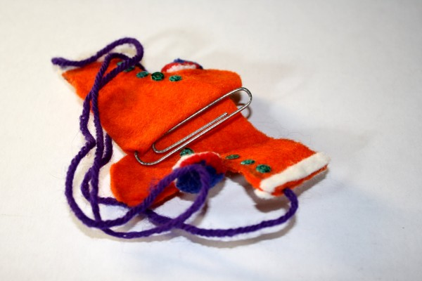 Felt Ice Skates Ornament - Free High Resolution Photo