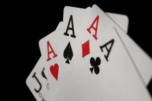 Four of a Kind Aces Playing Cards - Free High Resolution Photo
