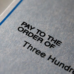 Pay to the Order Of Check Closeup - Free High Resolution Photo