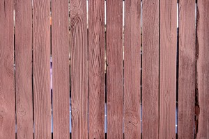 Red Stained Fence Texture - Free HIgh Resolution Photo