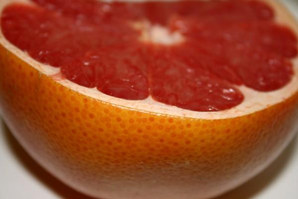 Ruby Red Grapefruit Half - Free High Resolution Photo