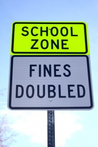 School Zone Street Sign - Free High Resolution Photo