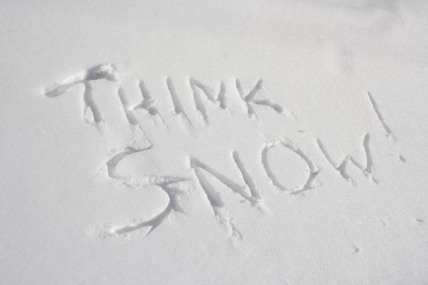 Think Snow - Free High Resolution Photo