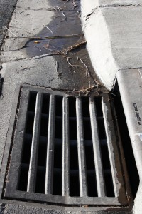 Water Running Into Storm Drain - Free High Resolution Photo