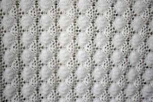 White Crochet Knit Texture - Free High Resolution Photo