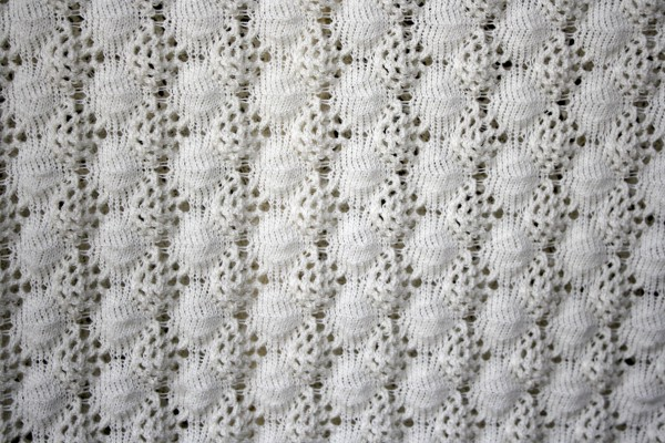White Crochet Knit Texture - Free High Resolution Photo