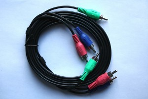 AV Cable for Component Video - Free High Resolution Photo