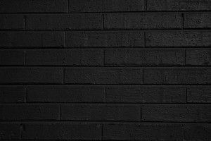 Black Painted Brick Wall Texture - Free High Resolution Photo