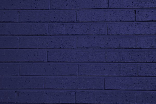 Blue Painted Brick Wall Texture - Free High Resolution Photo