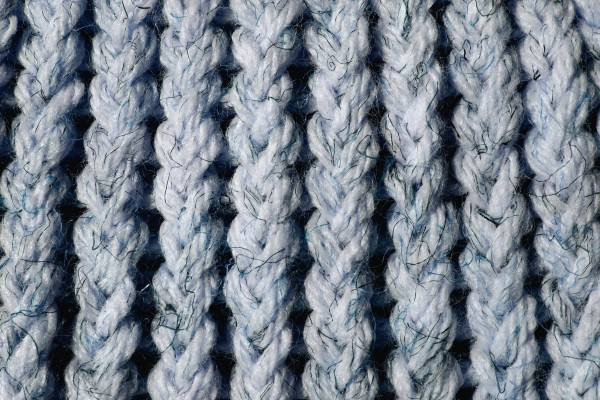 Light Blue Knit Yarn Close Up Texture - Free High Resolution Photo